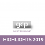 GCP Law – 2019 Highlights